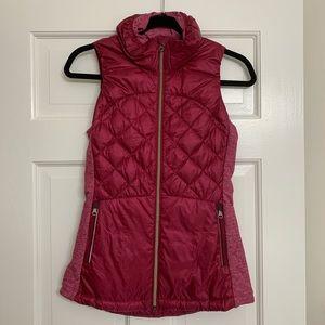 Red Puffy Lululemon Vest